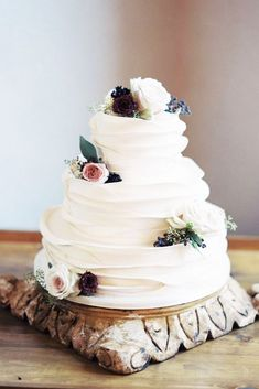 30 The Most Popular Elegant Wedding Cakes ❤ See more: http://www.weddingforward.com/elegant-wedding-cakes/ #wedding #cakes