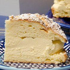 steliosparliaros sweetalchemy glykesalchimiesofficial pastry vanilla cream classic moder tropezienne Vanilla Cake, Bread, Sweet, Desserts, Instagram, Food, Candy, Tailgate Desserts, Deserts