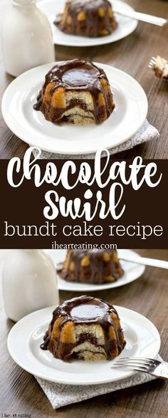 Chocolate Swirl Bundt Cake Recipe - best tips for making a marble cake! Love this dessert!
