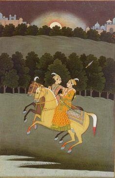 Rani Roopmati, was a Hindu singer, and later Queen of Malwa after her marriage to Sultan Baz Bahadur. The Sultan and Roopmati fell in love with each other and were married according to Muslim and Hindu rites.