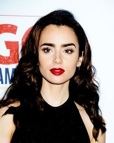 Lily Collins attends the GO Campaign Gala at Hauser Wirth and Schimmel in Los Angeles, California.