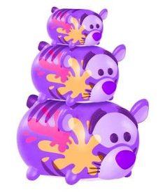 Tsum Tsum 3-Pack Figures Mickey//Tinker Bell//Cheshire Cat Jakks Color Pop