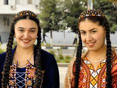 Turkmen girls.