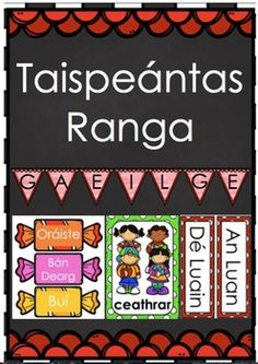 Pstaeir & luascrta don chinne na Gaeilge. Dathanna, na huimhreacha pearsanta & laethanta na seachtaine. Rogha dathanna do na huimhreacha pearsanta.Posters & flashcards for your Irish Display. Colours, personal numbers & days of the week. Irish Language, 5th Class, January 2018, School Stuff, Numbers, Teacher, Posters, Amp, Colours