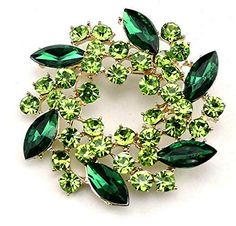 Christmas Brooch mothers day flowers cabochon Green jewelry bag green ethnic woman silver cabochon vintage nature pattern
