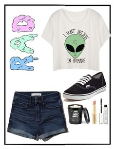 """RAD"" by atrabiliousx on Polyvore featuring Abercrombie & Fitch, Vans, Napoleon Perdis and Bobbi Brown Cosmetics"