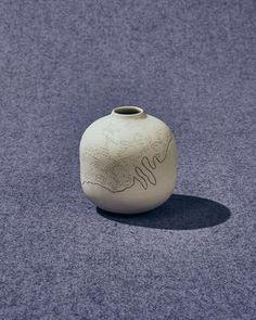 ceramic vase Ceramic Vase, Carving, Ceramics, Pottery Vase, Ceramica, Pottery, Wood Carvings, Sculptures, Ceramic Art