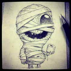 Cute critters and monsters. Artwork and sculpture by Chris Ryniak http://chrisryniak.com/