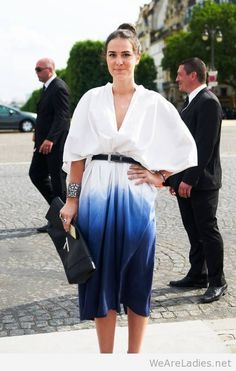 Amazing street style at Paris couture