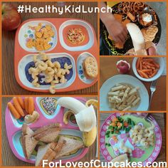 5 ideas for healthy lunches #HealthyKidLunch