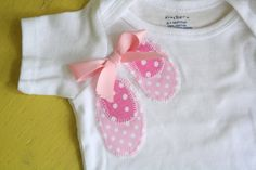 Hey, I found this really awesome Etsy listing at http://www.etsy.com/listing/111929738/ballerina-shoes-onesie-ballerina-clothes