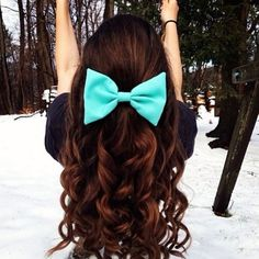 You can always spice up a simple hairstyle with a nice hair accessory!