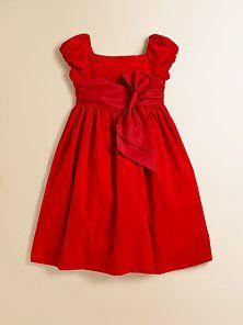 Ralph Lauren - Toddler's & Little Girl's Wale Corduroy Dress ---Xmas dress