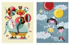 Helen_dardik_illustrations_children_circus_happy_colors