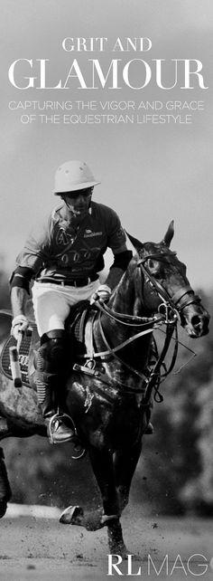 Ralph Lauren Magazine captures the equestrian lifestyle