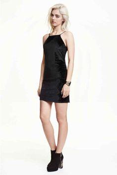 Vestido em veludo | H&M
