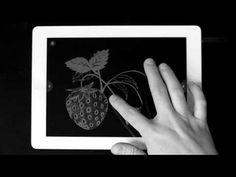 El libro negro de los colores para iPad. una maravilla.