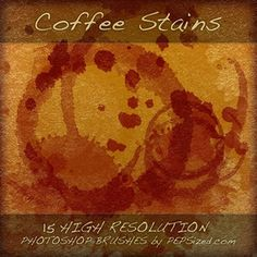 Great pack of 15 Coffee Stains Photoshop Brushes. Remember to link author site when you use it. Free Photoshop, Photoshop Brushes, Photoshop Tutorial, Photoshop Actions, Web Design, Coffee Staining, I Love Coffee, Photoshop Photography, Brush Set