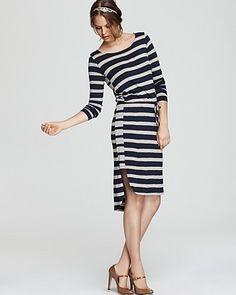 Ella Moss Blouson Dress - High/Low   Bloomingdale's