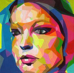 Saatchi Online Artist: Raiber González Hechavarría; Acrylic, 2013, Painting El café sube la nota
