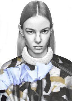 2015 Westminster Fashion illustration – Sophie Hay