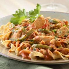 Sofia's Chicken Paprikash - If you like paprika, this is the perfect dish as it was definitely the prominent taste of this dish.  Flavorful.  I served on noodles.  Will make again.