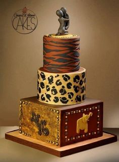 African style by D'Adamo Cinzia - http://cakesdecor.com/cakes/209014-african-style