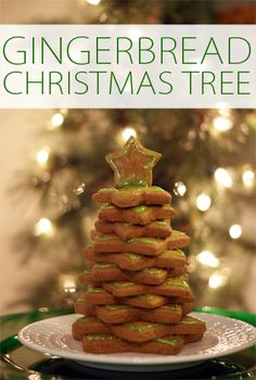 101 Days of Christmas: Gingerbread Star Christmas Tree