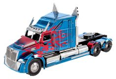 The Metal Earth Optimus Prime Western Star 5700 Truck models are amazingly detailed etched models that are fun and satisfying to assemble. Metal Earth Models, Metal Models, Woodcraft Construction Kit, Metal For Sale, Earth 3d, New York Taxi, Metal Model Kits, Freightliner Trucks, Laser Cut Steel