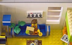 LEGO Ideas - Emmet's Apartment from The LEGO Movie