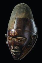 Helmmaske 'gelede', Yoruba