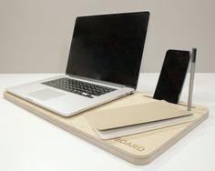 Lap Desk Laptop Stand and Workspace Organizer  von Wudzeedotcom