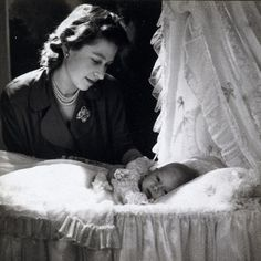 Royal Highness the Princess Elizabeth with Her First Child, Prince Charles, EnglandBy Cecil Beaton pictures of prince charles as a newborn baby