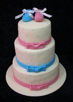 baby shower cake dubai by The House of Cakes Dubai, via Flickr