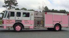 Charlotte Fire Dept has a Pink Lady