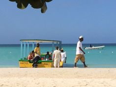 Go for a glass-bottom boat ride in Negril Jamaica