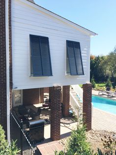 Bahama Shutters Add Style And Protection To Any Home The Functional Exterior Can Even Protect Your Windows From Severe Weather
