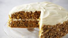 Look at this recipe - Carrot Cake With Cream Cheese Frosting - from Anna Olson and other tasty dishes on Food Network. Frosting Recipes, Cupcake Recipes, Baking Recipes, Cupcake Cakes, Dessert Recipes, Icing Recipe, Cone Cupcakes, Cake Icing, Anna Olson