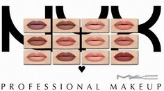 Liquid lipstick with a plush matte finish at MAC Cosimetics • Sims 4 Updates