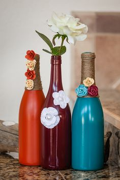 Turquoise Wine Set by ReclaimYourFaith on Etsy, $29.00
