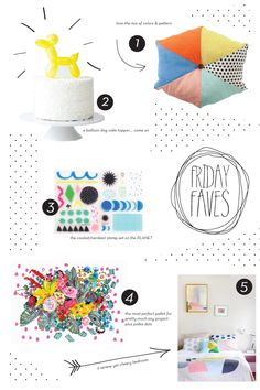 fridays are my fave - cute product layout