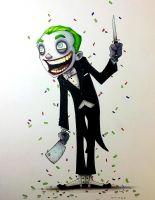 Christopher Uminga - The Joker Comic Art