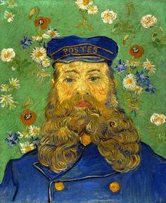 Portrait of Joseph Roulin - Vincent van Gogh (1853 - 1890)