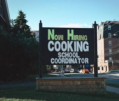"""The Barrington Street Superstore is HIRING a cooking school coordinator. . In other news this """"send me all the signs"""" thing might be my new fav thing. Keep em coming. If you think people halifaxnoise community might be into it send it my way. I know grocery store signs aren't what everyone wants in their super curated feeds so DM me / txt me / email me / send a bird... Or tag me the usual way ... whatver."""