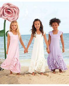 rosy ruffles girls dress