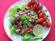 Libańska sałatka z kuskusem i ziołami