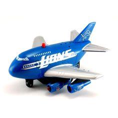 2012 NFL Pull Back Plane Die Cast - Detroitriot Lions