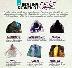 Crystal pyramids