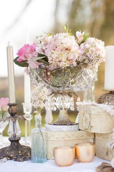 Pink & Shabby Chic Styled Shoot|Photo by:  laurenalbanesephotography.com