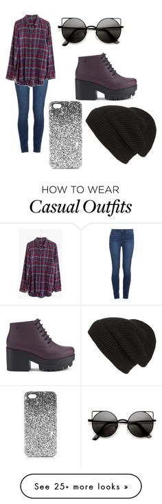 """Casual Look"" by emxly09 on Polyvore featuring Paige Denim, Madewell, Melissa, Phase 3 and Topshop"